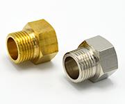 饮水机铜配件的改进:4*4内外接